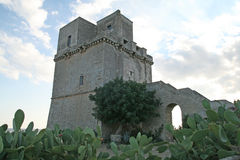 Salento colimena tower Royalty Free Stock Photography
