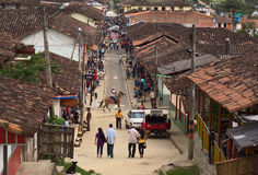 Salento Colombia Arkivfoto