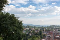 Salento, Colombia and Sky Stock Images