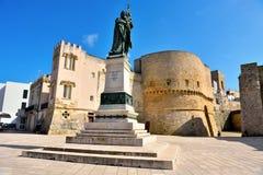 Salento Italia de Otranto fotografía de archivo libre de regalías