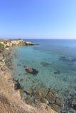 Salento klippor i Apulia, Italien Royaltyfri Foto