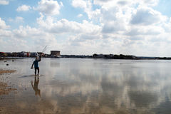 Salento low tide Stock Image
