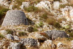 Salento's trullo Stock Photo