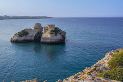 Salento: Torre dell'Orso Obrazy Royalty Free