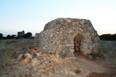 Salento trullo 库存照片