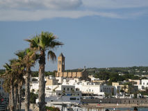 Salento. View of a tipical village in the coast of Salento (Italy Royalty Free Stock Photography