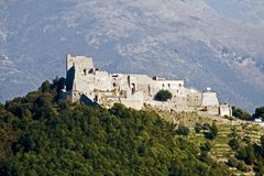Salerno-Arechi Castle Stock Image