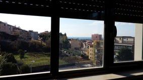 Salerno  dalla  finestra Stock Photos