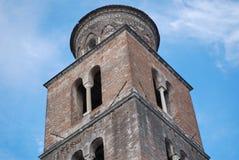 SALERNO-DOMKYRKA, SÖDRA ITALIEN Arkivbilder