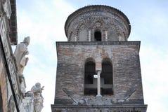 SALERNO-DOMKYRKA, SÖDRA ITALIEN Royaltyfria Foton