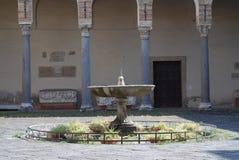 SALERNO-DOMKYRKA, SÖDRA ITALIEN Arkivfoto