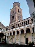 SALERNO-DOMKYRKA, SÖDRA ITALIEN Arkivbild