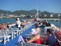 Salerno ferry Royalty Free Stock Photos
