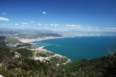 Salerno gulf Royalty Free Stock Photo