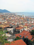 Salerno panoramic view Stock Photos