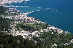 Salerno port Arkivbilder