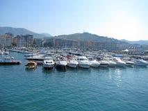 Salerno port Stock Photos