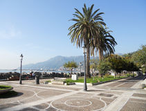 Salerno seafront Royalty Free Stock Image
