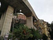 Salerno - viaduto urbano fotos de stock royalty free