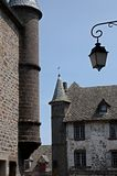Salers, France Royalty Free Stock Images