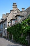 Salers, France. Old town Salers in Central Massif, Auvergne, France Royalty Free Stock Images