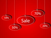 Sales. Vector pattern of discount. Sales stock illustration