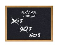 Sales. Royalty Free Stock Images