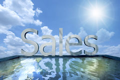 Sales Stock Image