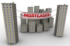 Sales apartments in the mortgages