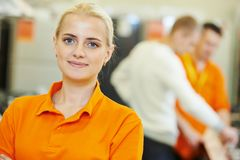 Sales assistant portrait Stock Images