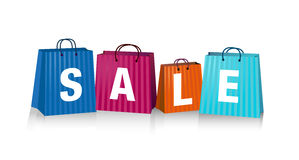 Sales Bags royalty free illustration