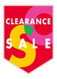 Sales banner. Sales clearance vector banner - excellent for shop stickers and web usage Royalty Free Stock Image