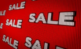 Sales banner royalty free stock image