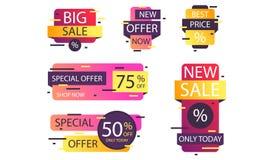 Sales banner design - Vector royalty free illustration