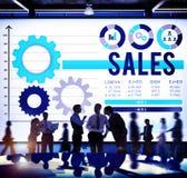 Sales Budget Finance Income Money Concept Stock Photo
