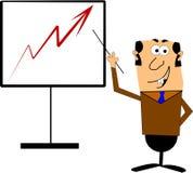 Sales chart Stock Photos