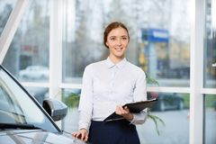 Sales consultant Stock Images