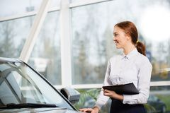 Sales consultant Royalty Free Stock Image