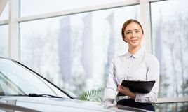Sales consultant Royalty Free Stock Photos