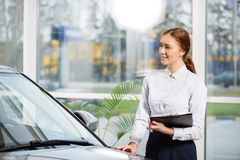 Sales consultant Royalty Free Stock Photo