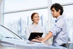 Sales consultant Stock Photo