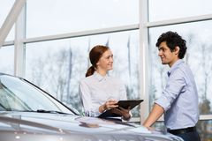 Sales consultant Royalty Free Stock Images