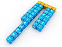 Sales Crossword Stock Images