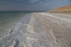 Sales del mar muerto Foto de archivo libre de regalías