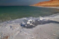 Sales del mar muerto Fotos de archivo libres de regalías