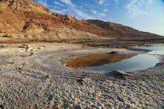 Sales del mar muerto Fotografía de archivo libre de regalías