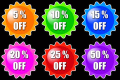 Sales discount Royalty Free Stock Photo