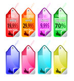 Sales discount icon  Stock Image