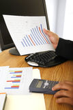 Sales Figures Stock Photos