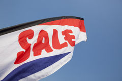 Sales Flag Royalty Free Stock Images